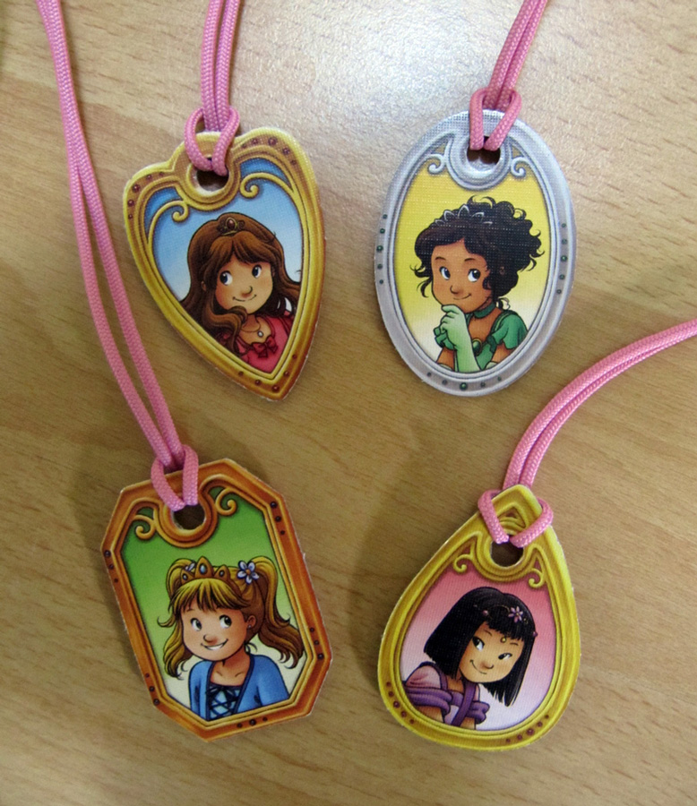 These are the princess amulets.