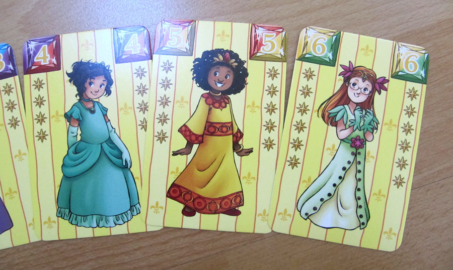 ...and the second 3, including the 2 new princesses.
