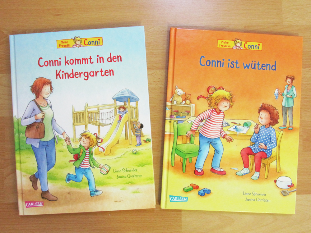 The 2 picture books.