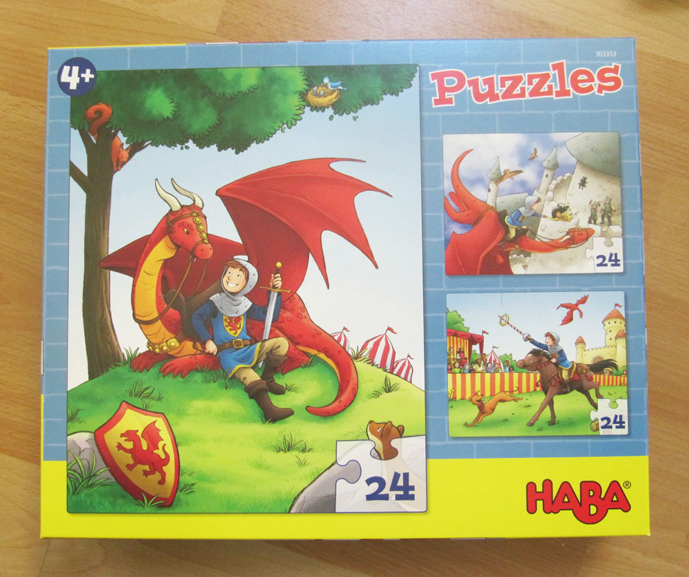 The cover for the puzzles.