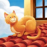Cat-on-the-roof